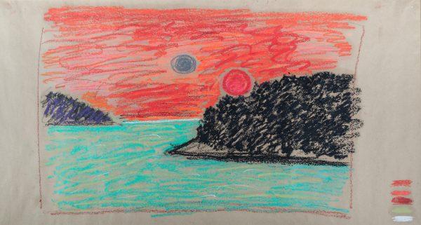 Sunset Kosa Bokšan 106