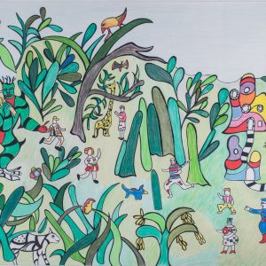 Niki de Saint Phalle Jungle I 111