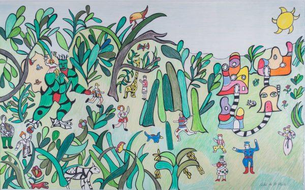 Niki de Saint Phalle Jungle I 111