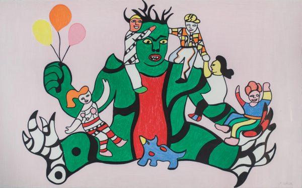 Niki de Saint Phalle Le Monstre 139139