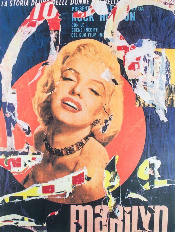 Mimmo Rotella Marilyn 1963 1585