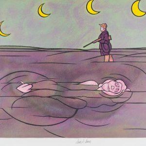 Valerio Adami Clair de lune 182