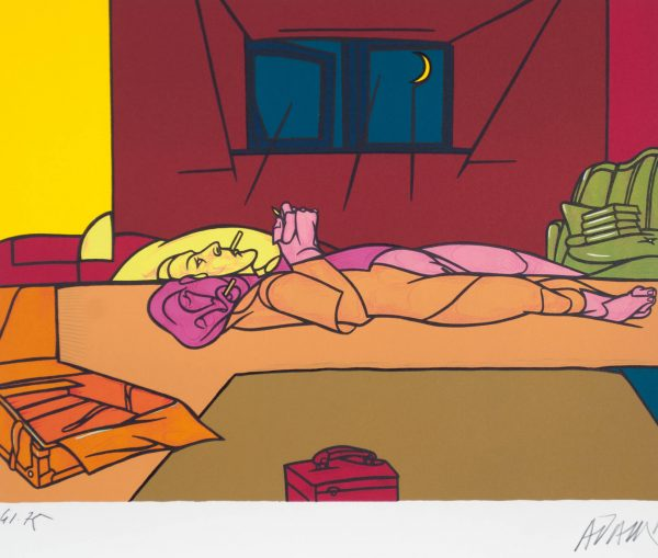 Valerio Adami Dormire Dormire 184