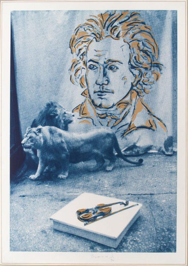 Braco Dimitrijević Hommage Beethovenu 190