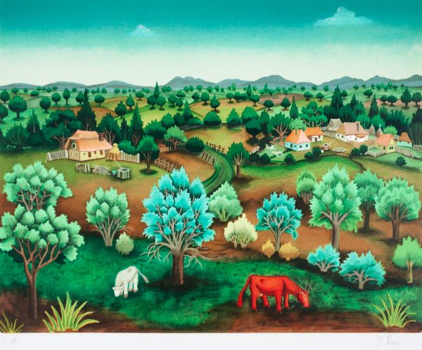 Red cow Ivan Generalić 211