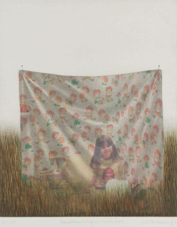 Kyu-Baik Hwang Handkerchief on the girl 472