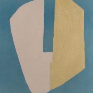 Serge Poliakoff Composition juane et bleue 707
