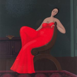 Red dress Branko Bahunek 724