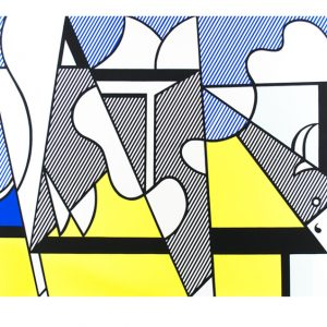 Cow Going Abstract (Triptych) Roy Lichtenstein 824-826