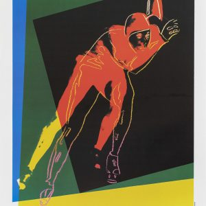Original poster Andy Warhol Speedskater 500