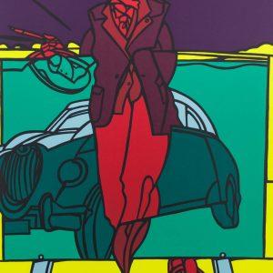 Valerio Adami Le peintre et la voiture 168