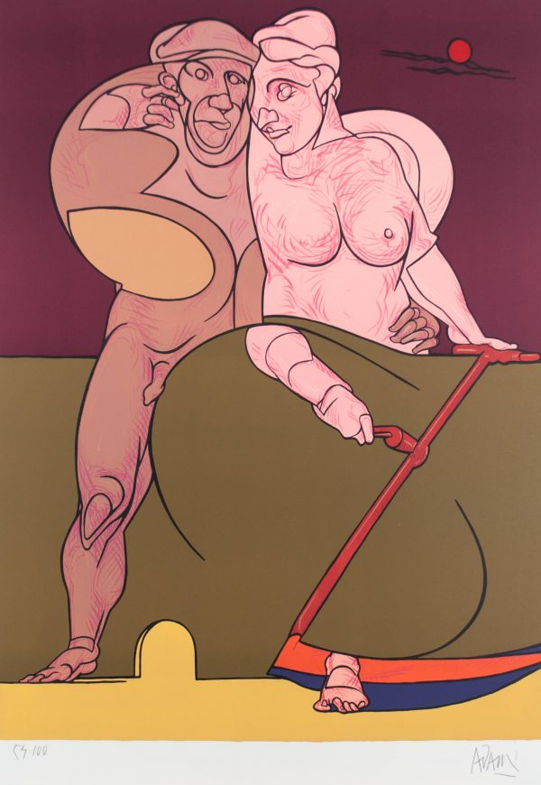 Valerio Adami Picasso et la femme néoclassique 173