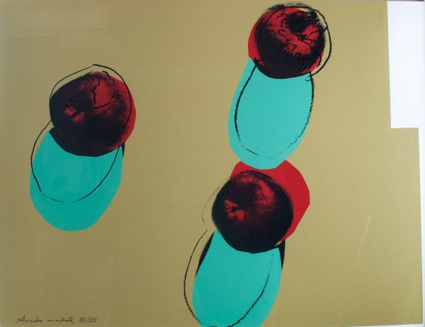 Andy Warhol Apples Portfolio Space Fruit: Still Life 834