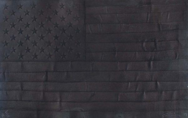 Robert Longo Black Flag 1552