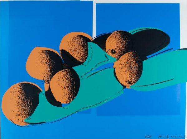"Andy Warhol ""Cantaloupes I"" Portfolio Space Fruit: Still Life 839"