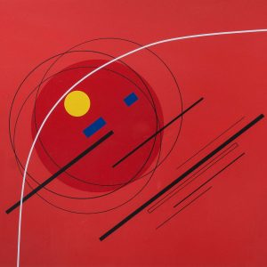 Luigi Veronesi Composition in red 731
