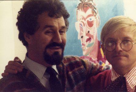 David Hockney and Lazo Vujić.