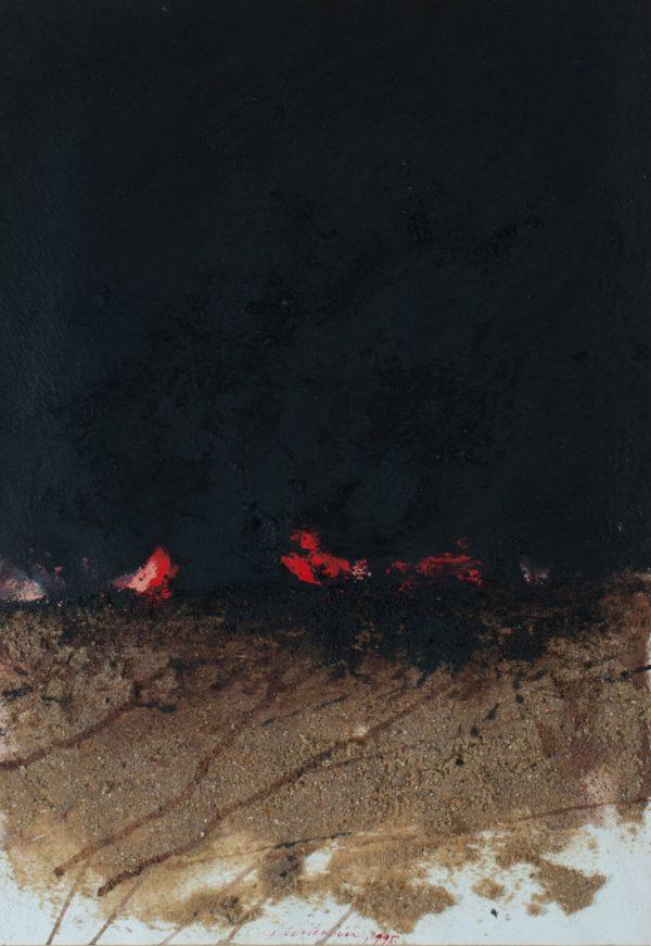 Vladimir Veličković Fire 1609
