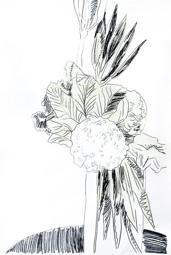 Andy Warhol Flowers 1504