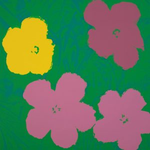 Andy Warhol Flowers (Sunday B Morning) 9826