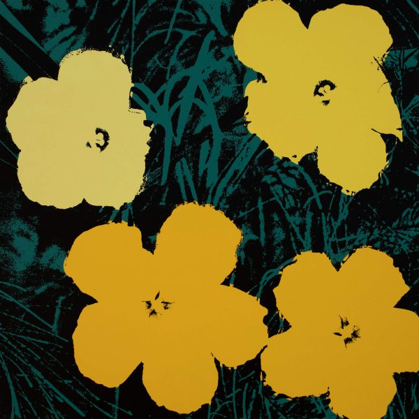 Andy Warhol Flowers (Sunday B Morning) 9833