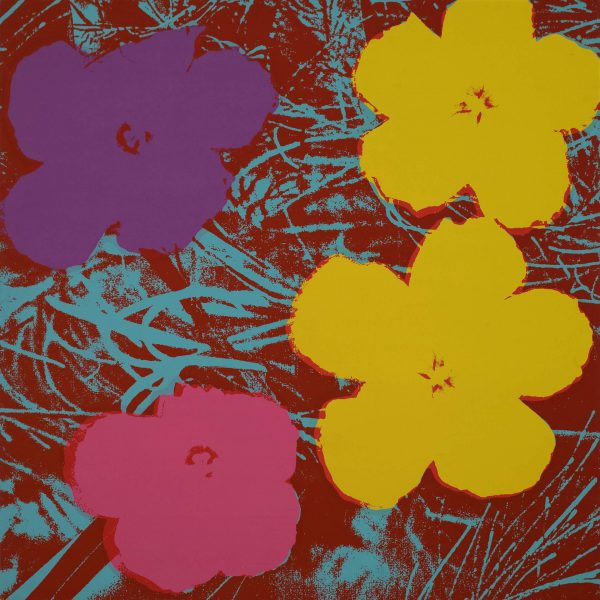 Andy Warhol Flowers (Sunday B Morning) 9848