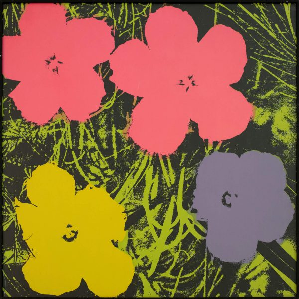 Andy Warhol Flowers (Sunday B Morning) 9986