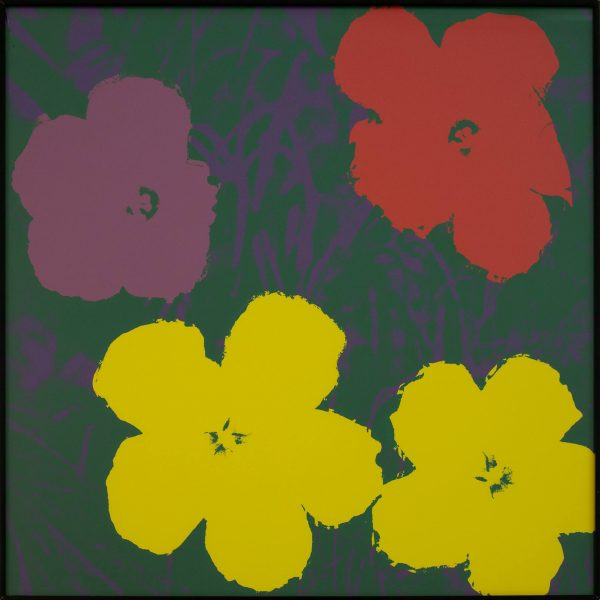 Andy Warhol Flowers (Sunday B Morning) 9990