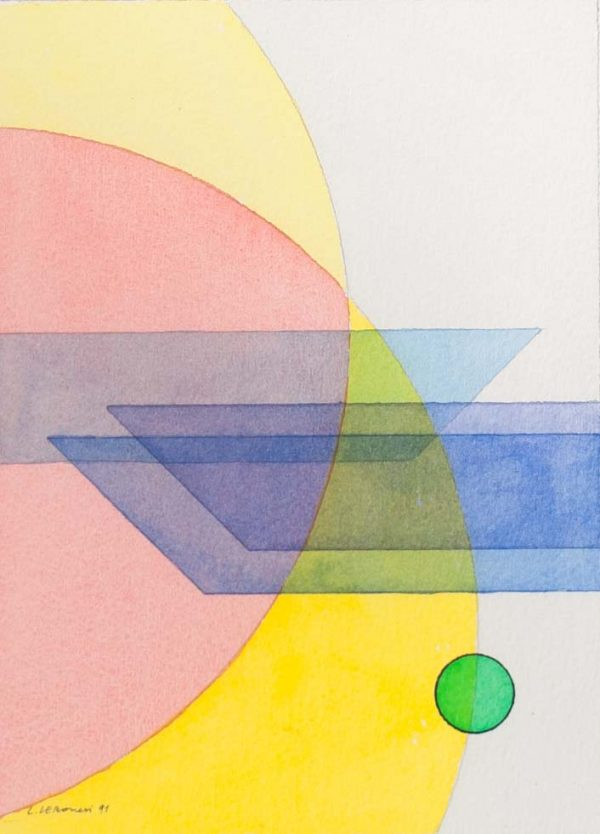 Luigi Veronesi Geometric composition 728