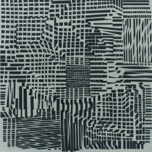 Victor Vasarely Hommage a Bach III 695