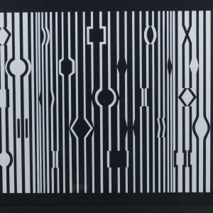 Victor Vasarely Hommage a Bach VII 700