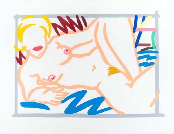 Tom Wesselmann Judy on Blue Blanket 1600