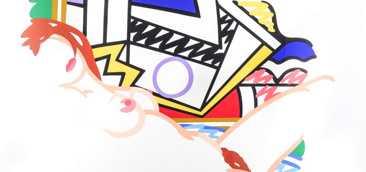 Tom Wesselmann Monica Nude with Lichtenstein 1510