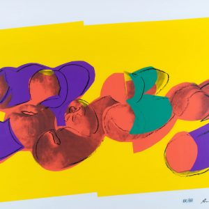 "Andy Warhol ""Peaches"" Portfolio Space Fruit: Still Life 835"