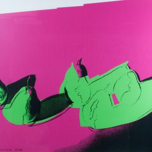 "Andy Warhol ""Pears"" Portfolio Space Fruit: Still Life 835"
