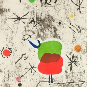 Joan Miró Personatge I Estels I 1626