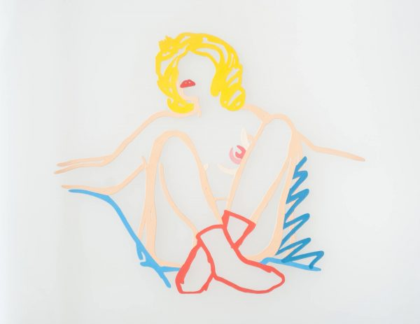 Tom Wesselmann Rosemary with Socks, Arms outstretched 1706