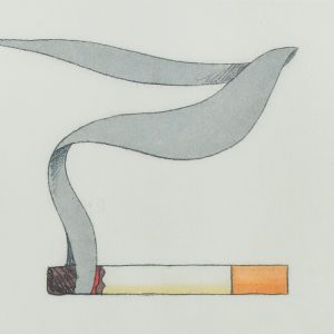 Tom Wesselmann Smoking Cigarette #1 740