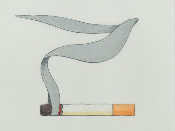 Tom Wesselmann Smoking Cigarette #1 740