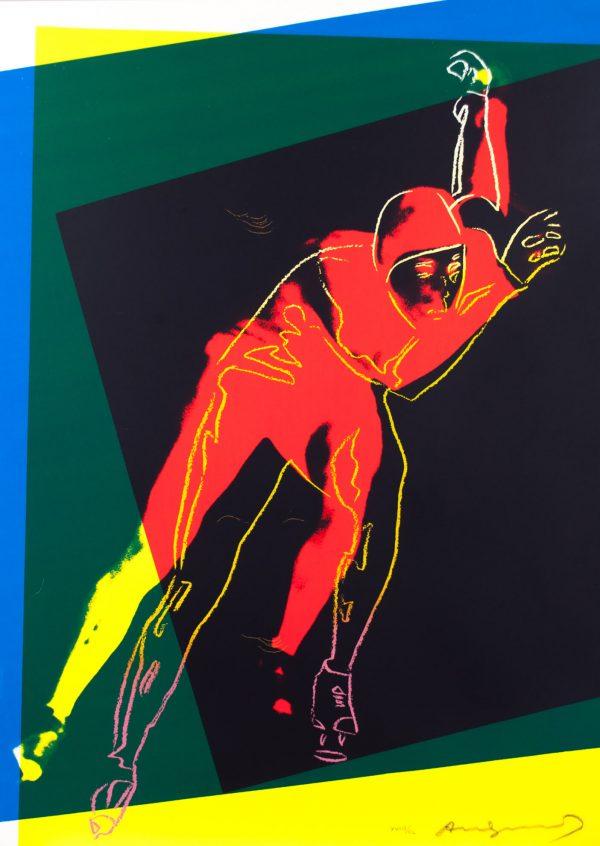Andy Warhol Speedskater 161