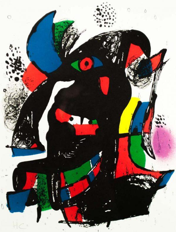 Joan Miró Untitled 1657