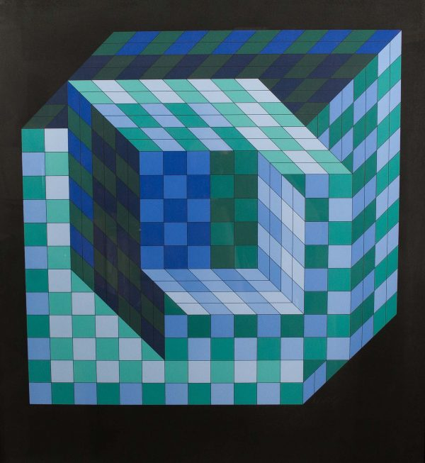 Victor Vasarely Untitled 686