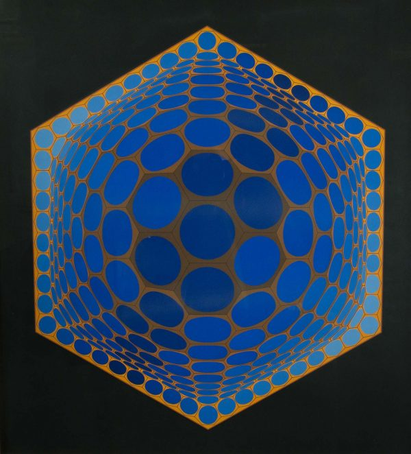 Victor Vasarely Untitled 687