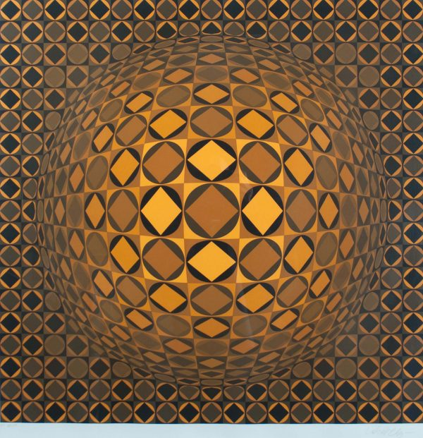 Victor Vasarely Untitled 688