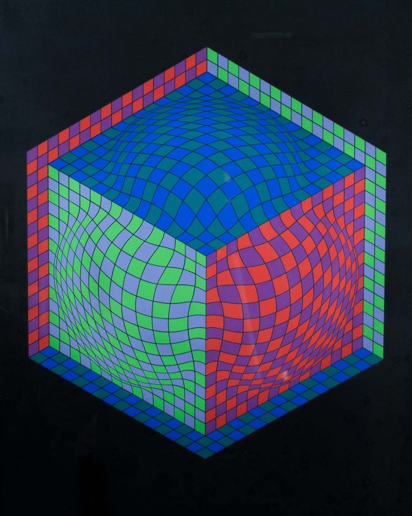 Victor Vasarely Untitled 689