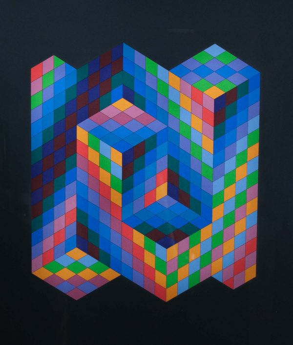 Victor Vasarely Untitled 690
