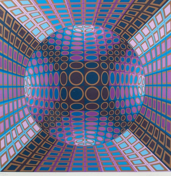 Victor Vasarely Untitled 691