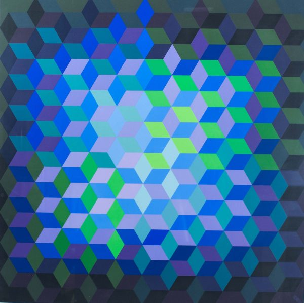 Victor Vasarely Untitled 692