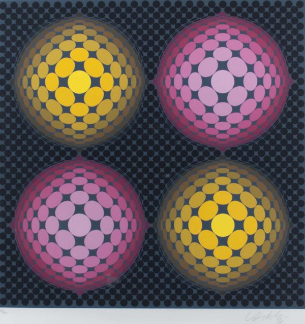 Victor Vasarely Untitled 701