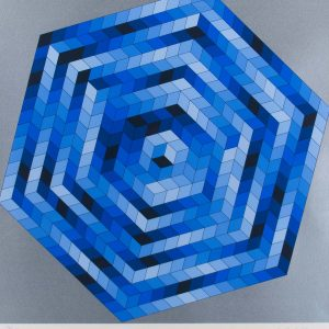 Victor Vasarely Untitled 702